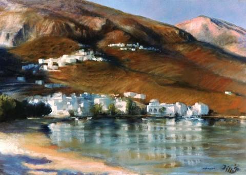 Landschaptekening - Amorgos