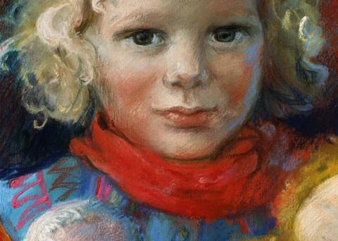 Pastelportretten Mieke Dillo