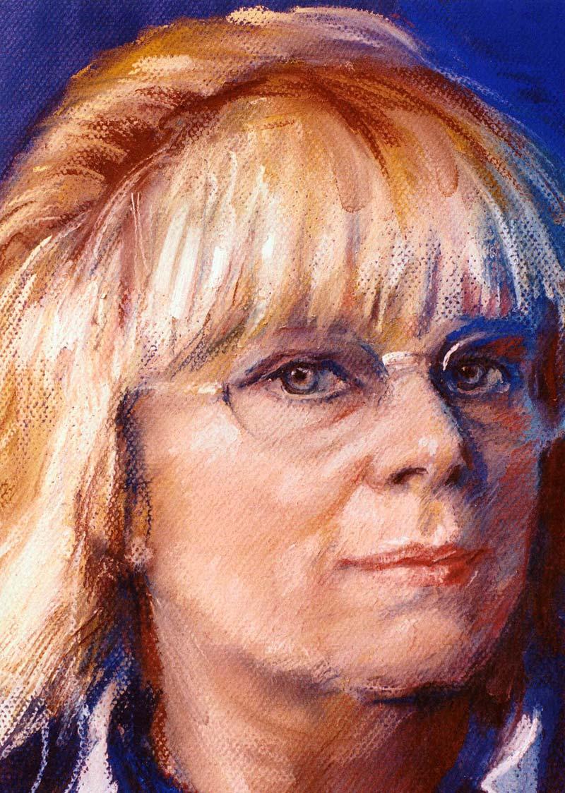Zelfportret Mieke Dillo
